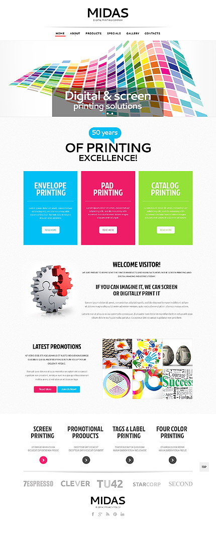 white print shop website template by sawyer print shop responsive website template 47978. Black Bedroom Furniture Sets. Home Design Ideas