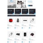 Bootstrap Music Store Responsive PrestaShop Theme