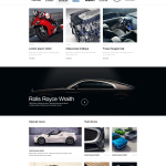 Adobe Muse Car Template
