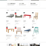 Bootstrap Furniture Responsive PrestaShop Theme