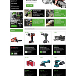 Bootstrap Tools & Equipment Responsive OpenCart Template