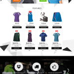 Sports Apparel WooCommerce Bootstrap Responsive Theme