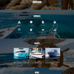 Yachting Club Joomla Bootstrap Responsive Template