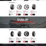 Wheels and Tyres Responsive Magento Theme