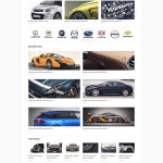 Cars Magazine WordPress Bootstrap Responsive Theme
