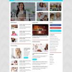 Education News WordPress Bootstrap Responsive Theme