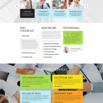 Safe Investment WordPress Bootstrap Responsive Theme