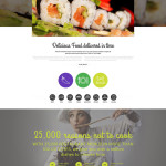 Food Delivery WordPress Responsive Theme