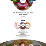 Confectionary Responsive Website Template