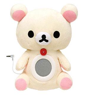 ตุ๊กตาหมีลำโพง-FR53101-ขาว-San-X-Rilakkuma