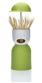 ที่ใส่ไม้จิ้มฟัน-QL10055-เขียว-Qualy-Picky-Boy