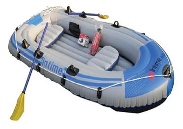 เรือพลาสติกเป่าลม-InTime-(M)-น้ำเงิน-สำหรับ-3คน