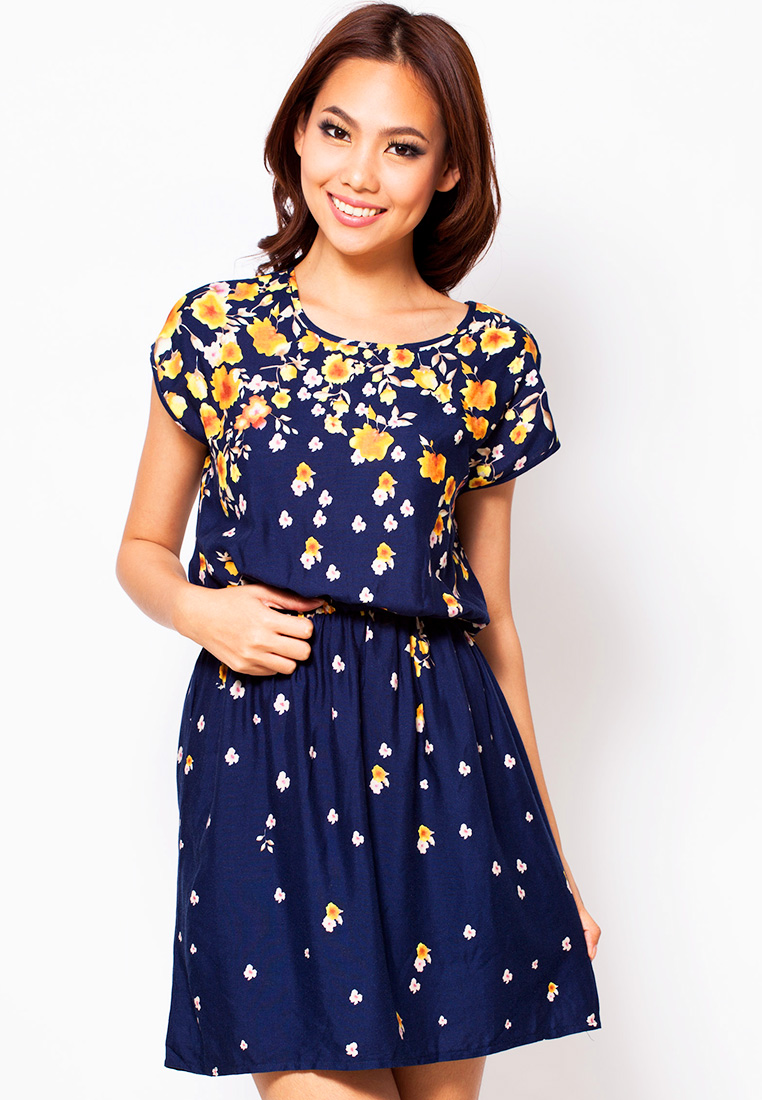 ชุดกระโปรง BLUE CORNER Shara Mini Dress