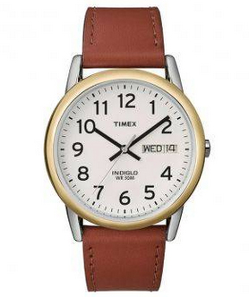 TIMEX-MEN-CLASSIC-WATCH---รุ่น-2107B20011-สีน้ำตาล