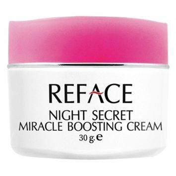 ครีมบำรุงผิวหน้า REFACE Night Secret Miracle Boosting Cream - 30 g