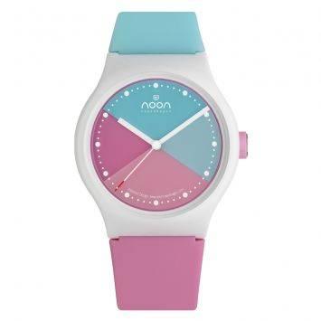 นาฬิกาข้อมือ Noon Copenhagen - รุ่น 33-064DS1 Quartz Light blue Pink