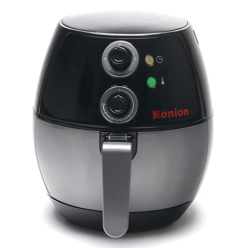 Konion หม้อทอดไร้น้ำมัน รุ่น GP-0019 2 ลิตร (สีดำ)